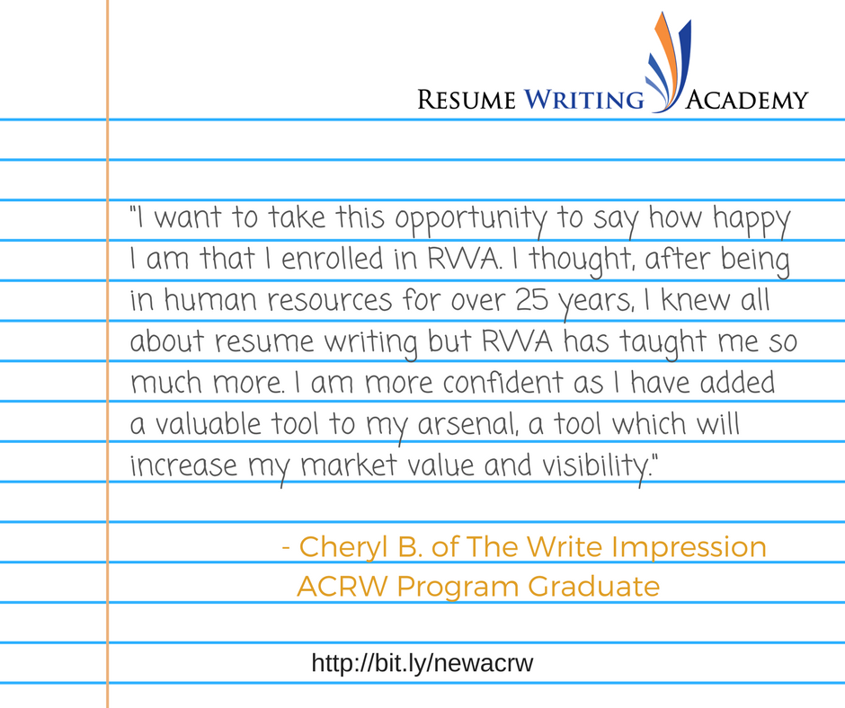 Resume Writing Academy
